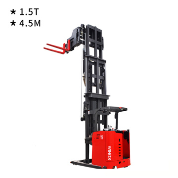 3-Way Pallet Stacker 1.5ton 4.5m