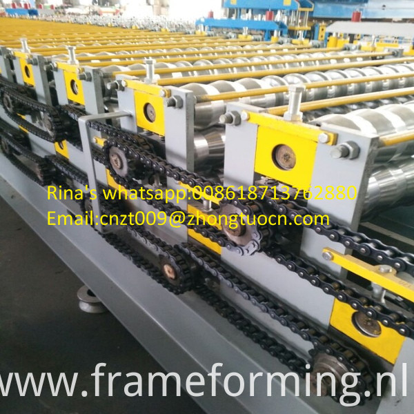 steel sheet roof sheet roll forming machine line 14