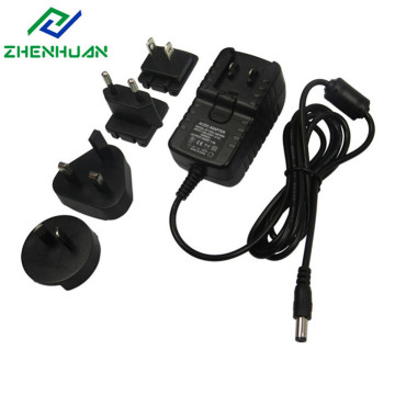 24W 8V3A Multiple AC Universal Power Plug Adapter