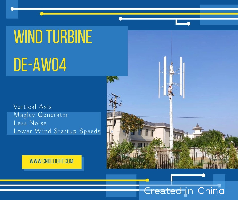 vawt vertical wind maglev wind generator turbine delight eco energy