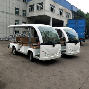 Electric Shuttle bus tourist bus sightseeing car