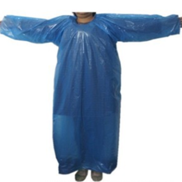 Stock LDPE Disposable  Raincoat