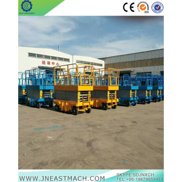 1.5t 14m Battery Powered Mobile Scissor Lift Platform