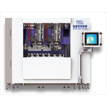 High Speed 5 Axis CNC Brush Machine