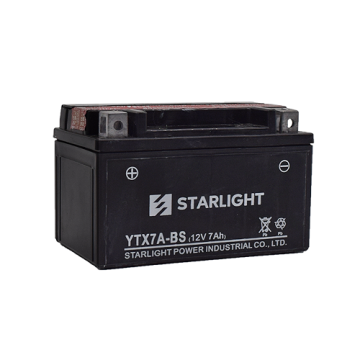 12V7ah YTX7A-BS001 Maintenance Free Motorcycle Batteries