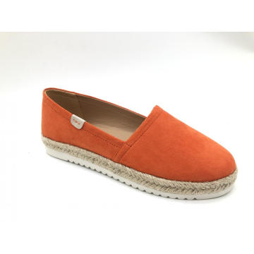 Women`s Closed Toe Slip On Espadrilles Loafer Flat
