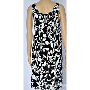 Women Short Sleeveless Dress