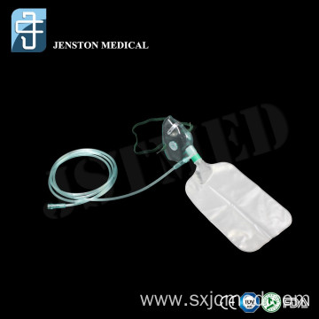 PVC Oxygen Mask With Reservoir Bag Non-Breathing Mask