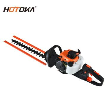 gasoline 2 stroke double blade hedge trimmer