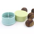 1 Pc Chestnut Peeler Cross Opening Household Plastic Nut Biscuit Opener Practical Multifunctional Kitchen Tool Peeler Gadgetse
