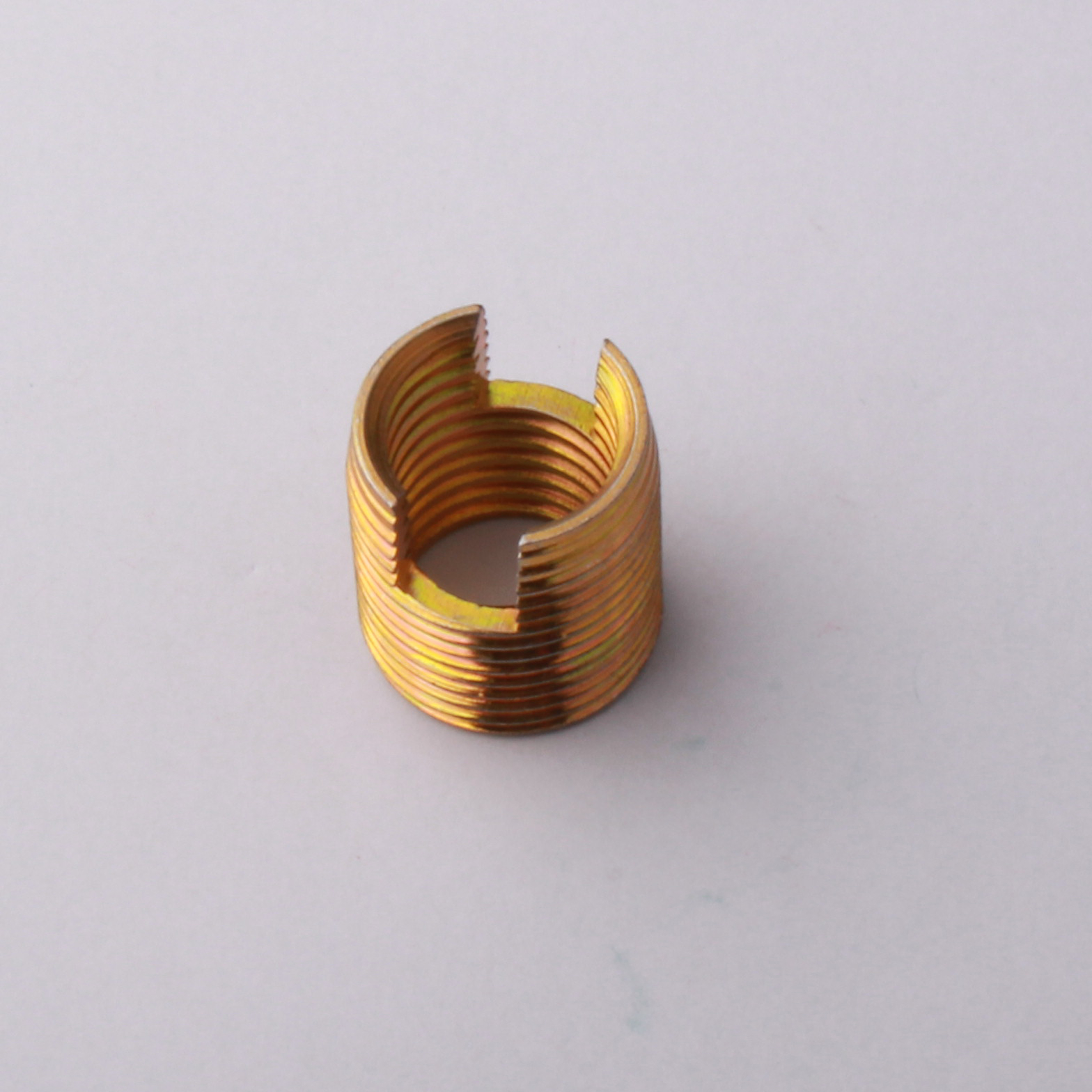 brass self tapping coils
