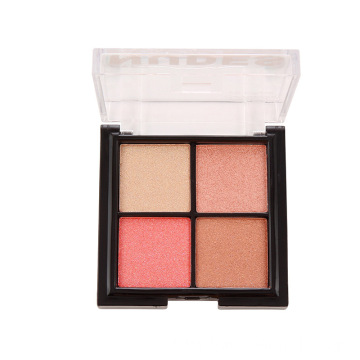 Shimmer Highlighter Palette Makeup Face Blusher Powder