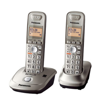 Digital Cordless Phone With Answer System Machine Handfree Voice Mail Backlit LCD Wireless Telephone For Office Home Black