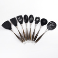 stainless steel kitchen tools silicone utensil set