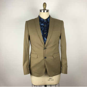 Well-designed Men's Suits Army green color suit