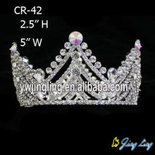 Rhinestone Full Round Crowns For Princess