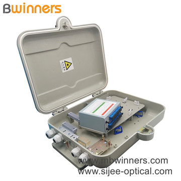 Outdoor 16 Core Plc Fiber Optic Ftth Terminal Box
