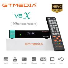 GTmedia V8X Satellite TV Receiver DVB-S2 1080P HD Built in WIFI H.265 CA Card GT Media Stock in spain