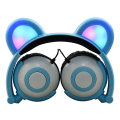Kinder Kinder Cartoon LED Licht Ohr geformte Headsets