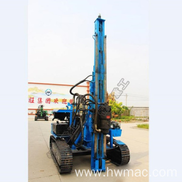 Hydraulic Hammer Pile Driver Solar Ramming Piling Machine