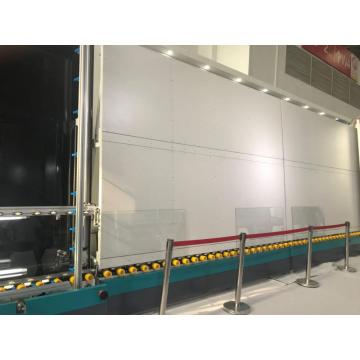 Vertical insulated glass making line