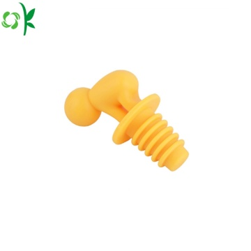 Dustproof Silicone Bottle Stopper for Wine Glass