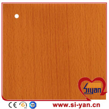 Mdf door decorative pvc film