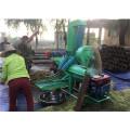 High efficiency mobile diesel engine driven fresh millet thresher/sorghum rape seed threshing machine with vibrating screen