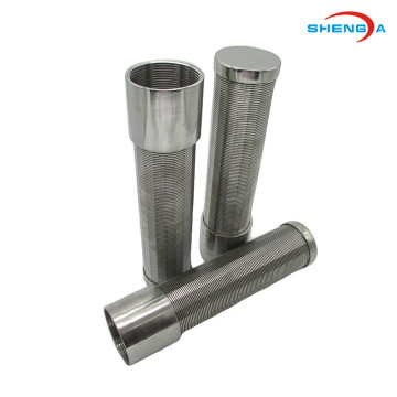 Stainless Steel Wedge Screen Cartridge for Sugar Syrup