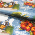 wholesale low price printed rayon spandex fabric
