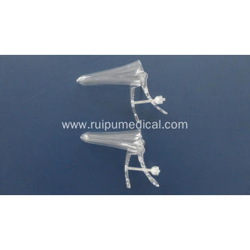 Sterile Disposable Vaginal Speculum With Middle Screw Type