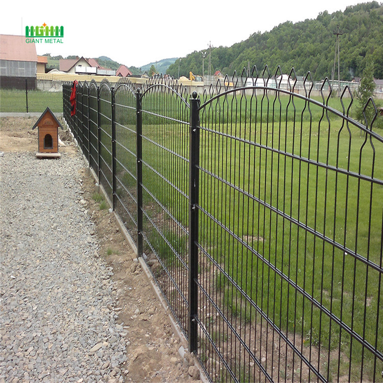 Electric Galvanized  Decorative Panel Fence
