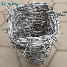 High quality galvanized Powder coated barbed wire factory price