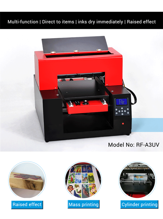 Rfc Uv Flatbed Printer