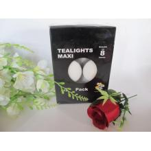 50g Unscented White Tealight Candle