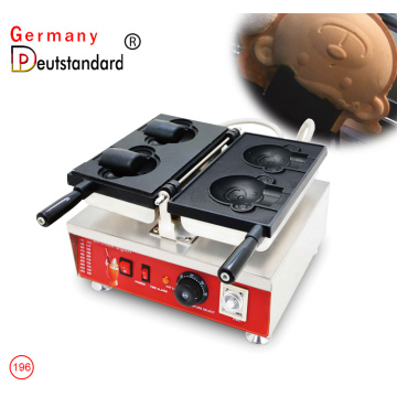 commercial and electric bear shape taiyaki machine with CE NP-196