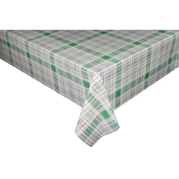 Elegant Fern Vinyl Tablecloth