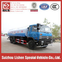 Capacity 15 Ton Dongfeng High Pressure Water Truck