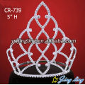 Wholesale crystal rhinestone pageant crowns and tiaras