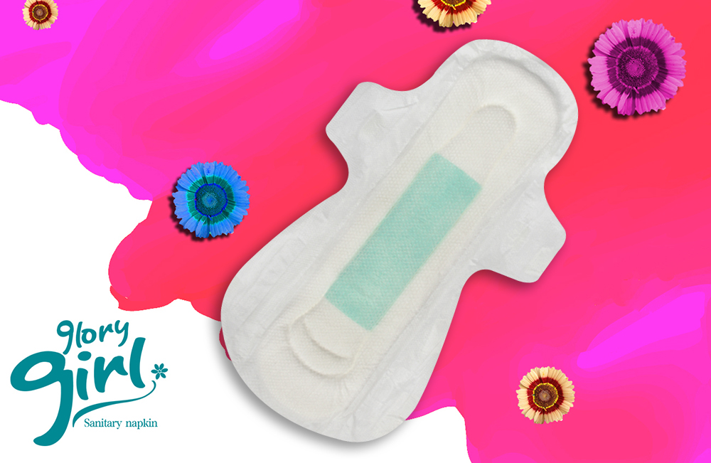 Sanitary Pads Negative Ions