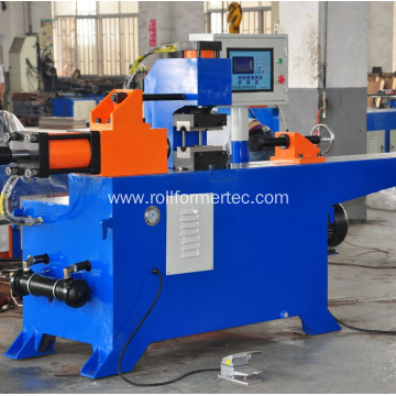 Tube diameter reducing machine tube endformers machine