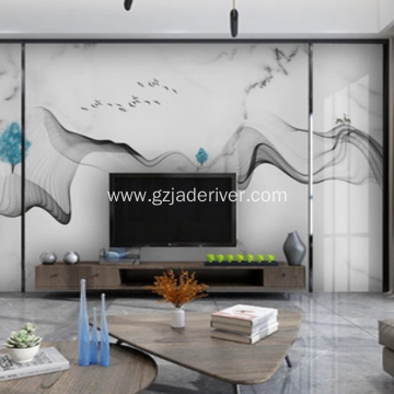 Marble TV Background Wall