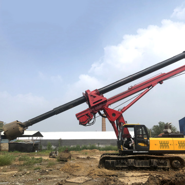Dingli exports high-quality hydraulic pile driver