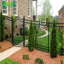 Easily Assembled PVC Coated Steel Fence Gate