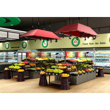 High Grade Supermarket Fruit Display Shelving Units