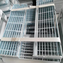 Hot-dip Galvanized Steel Grid Staircase