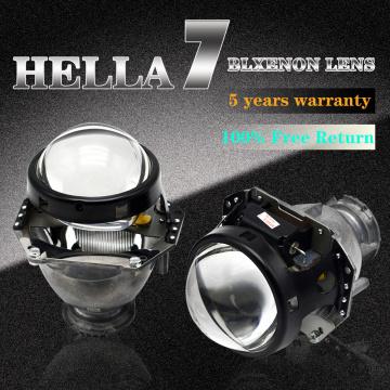 YUFANYA 3.0 Inch Hella 7 G5 Bixenon Projector Lens Car Retrofit Accessories Koito Hid Xenon Kit For D1s D2s D3s D4s Model Car