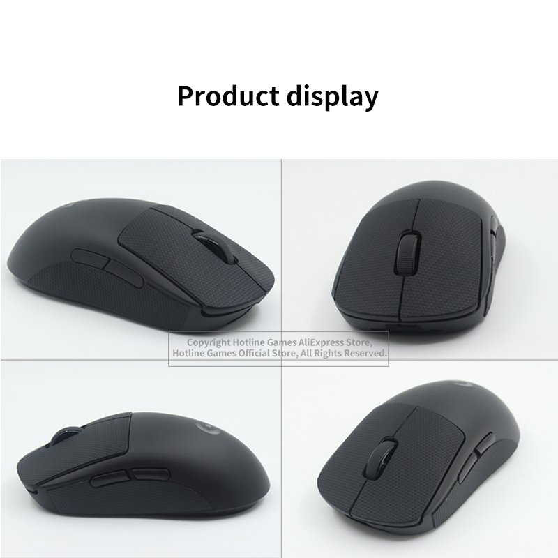 Hotline Games Mouse Anti-Slip Tape for ENDGAME GEAR XM1 Mouse Sweat Resistant Pads Mouse Side Anti-Slip Stickers Mouse Skates