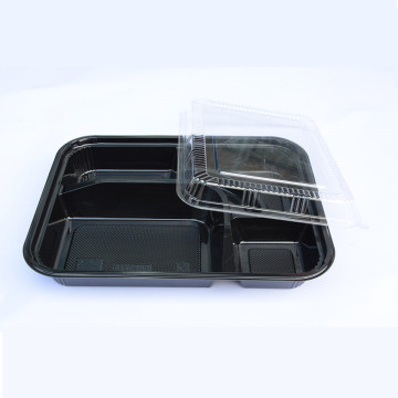 5 department disposable Lunch Box Tableware