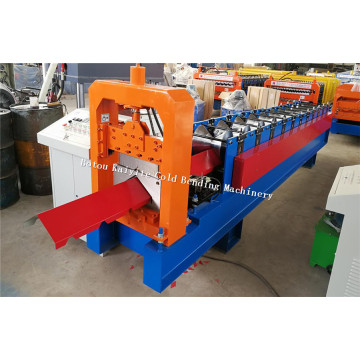 Roof Ridge Cap Rolling Forming Machine